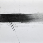 n.leboutillier_drawing_abstract_horizontal_elements_charcoal_on_paper_11X14