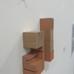 Wood Blocks and Pushpins -detail