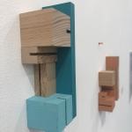 Wood Blocks and Push Pins - detail